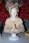 CAPODIMONTE VINTAGE ITALIAN JULIET FIGURINE DONE IN ACRYLIC PASTE AND PORCELAIN