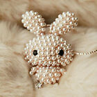 Valentine's Day gift Betsey Johnson Lovely pearl rabbit necklace N118