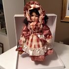 Katherine Collection Doll porcelain 2002 mint on stand