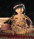 HERITAGE SIGNATURE COLLECTION NATIVE AMERICAN PRINCESS PORCELAIN DOLL, WINEMA
