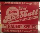 1989 Topps Traded update Series Baseball Cards - Factory Set - Rookies - one set