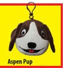 SHTANK OUT Aspen Pup Great for kids rooms book bags gym bags etc B167