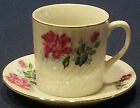 Antique Hand Painted Fine Bone China cup and Saucer Set
