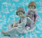Lladro # 5727 ~ ANGEL CARE ~  Angel Brushing Angel's Wings*** MINT CONDITION ***