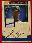 2004 AUTO Fleer Guts and Glory 08 50 signed Jersey JOSE REYES Blue Jay Autograph