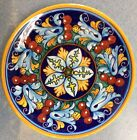 Deruta Pottery-8inch plate vario Pattern made/painted byhand-Italy.