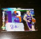 2010-11 Absolute Memorabilia Star Gazing Jumbo Patch Jersey# Auto Steve Nash 5