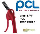 PCL Safety Blowgun Air Curtain Nozzle High Power Tool + free pcl 1/4