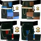 Server Set Waiter Waitress Bag Wallet Leather Waiter Holster Bag Belt Chain