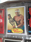 1985 Topps WWF Rack Pack Box 24 Packs Pro Wrestling Stars 696 Cards And Stickers