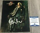 DONALD SUTHERLAND SIGNED THE HUNGER GAMES 8x10 PHOTO w PROOF & BECKETT BAS COA