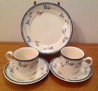 Noritake Keltcraft Eastfair Cups and Saucers and Bread Plate