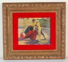 Impressionist Oil Painter Matador Bull Fighter by Roy Keister Chicago Artist