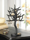 NEW ~ BLACK TREE JEWELRY HOLDER ~ Earrings Ring Necklace Display Stand Organizer