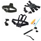 9-in-1 Strap Mount Set-Chest Dog Harness Monopod Floaty Bobber For GoPro Camera