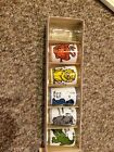 Vintage Anchor Hocking 1964 Animal Zoo Scene Glasses With Box