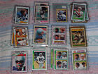 STEVE LARGENT COLLECTION AUTO ROOKIE INSERTS POLICE SETS SEAHAWKS OVER 400 CARDS