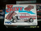 MPC Vintage 1957 Chevy 409 Gasser 70's Issue Adult Built Model W/Box Clean