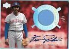 2005 UD Hall of Fame Fergie Jenkins 1 1 Auto Jersey Rangers