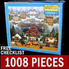 Charles Wysocki - Melodramas In The Mist - 1000 Puzzle Americana Fall Play House