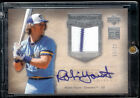 2005 Hall Of Fame Seasons Robin Yount Auto Jersey #12 15 Milauwakee Brewers