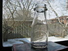 Schaefer's Dairy Appleton Wis Wisconsin Third Quart Milk Bottle Thatcher Glass