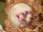 Vintage early 1900s Versailles Bavaria Rosenthal Hand Painted Plate - Grapes
