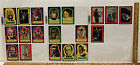 Lot of 24 1977 Star Wars Stickers First Series Topps Luke Leia Han Chewbacca