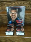 FOUR Hobby Boxes Breygent Season 4 Dexter Factory SEALED Trading Cards + BINDER