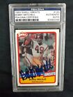 1989 SWELL GREATS NFL HOF BOBBY MITCHELL #120 PSA DNA SIGNED AUTO BROWN REDSKINS