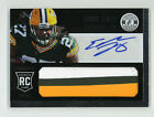 2013 Panini EDDIE LACY Prime Patch #218 Autograph 1 1 (RC) Football Card
