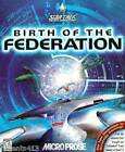 Star Trek The Next Generation Birth of the Federation Windows COMPLETE