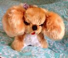 Vintage MASTER INDUSTRIES Cocker Spaniel 1950s Stuffed Plush Dog Toy *VERY RARE*