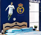 C Ronaldo Real Madrid soccer passion bedroom living room wall stickers student