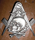 widows sons, freemasons,  all seeing eye, harley masonic biker vest pin