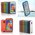 WaterProof ShockProof DirtProof Heavy Duty Hard Case Cover For Samsung Galaxy S5