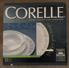 12 Piece Corelle Durable Vitrelle Glass Dinnerware - Country Cottage. NEVER USED