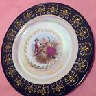 Courting Couple Vintage Plate Made In Japan Tohki Mtk Plate