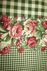 Concord Fabrics - Double Floral Border Fabric-Joan Kessler-100% Cotton-Vtg-BTYD