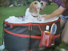 Portable Pet bath Tub collapsible frame, For Small to Medium Dogs Dirty Dogs