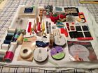 LARGE LOT OF SEWING ITEMS - SOME VINTAGE ITEMS