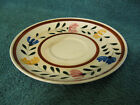 Hand Painted Kasuga Saucer/Japan/Provincial Daisy (item# A313)