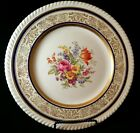 Antique English Floral Plate - Johnson Bros - Old English