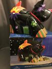 Hand Painted Collectable Dolomite Scottie Dog Ceramic Cookie Jar New In Box
