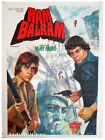 Ram Balram 1980 *Amitabh* rare original old vintage Bollywood poster from India!