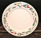 Lenox SLEIGHRIDE Debut collection Retired Bone China Dinner Plate 311034