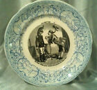 Sarreguemines Antique French Faience Plate