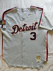Mitchell Ness M&N Detroit Tigers Alan Trammell Authentic Jersey 56 3XL RARE
