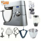 Kenwood Kitchen Robot KMM 075 Major Titanium Timer + Professional Bundle KMM 040