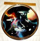 Franklin Mint Star Trek USS Enterprise Bold New Millennium LTD Plate 12 1/2